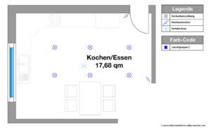 Elektroinstallation Planen Küche Beleuchtung, Hauptbeleuchtung, Ratgeber, Neubau, Umbau, Renovierung