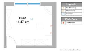 Elektroinstallation Planen Büro, Wandlampe, Schreibtischlampe, Raumgestaltung, Ratgeber