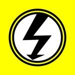 Warnschild, Elektroinstallation, Vorsicht Strom, Hausbau, Umbau, Renovierung