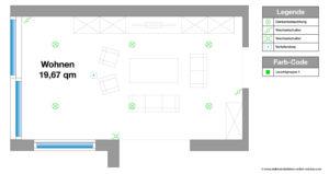 Elektroinstallation Planen Wohnzimmer, Beleuchtung, selber machen, Ratgeber