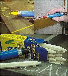 Elektroinstallation Werkzeug, Signalkreide, Baustelle