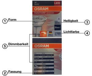 LED, Leuchtmittel, Form Dimmbarkeit, Helligkeit, Lichtfarbe, Fassung, Elektroinstallation, Ratgeber, Strom sparen