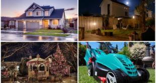 Außenbereich, Steckdosen, Garten, Lichter, Elektro, Haus